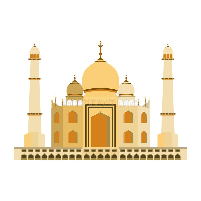 Inde Taj Mahal illustration de vecteur