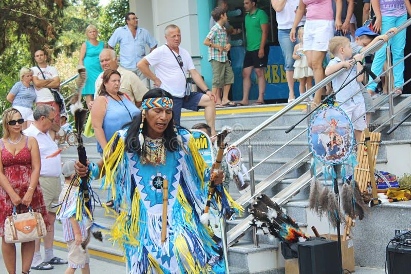Indeci, ulica, śpiew, taniec, rytuały, ceremonie, kostiumy zdjęcia stock