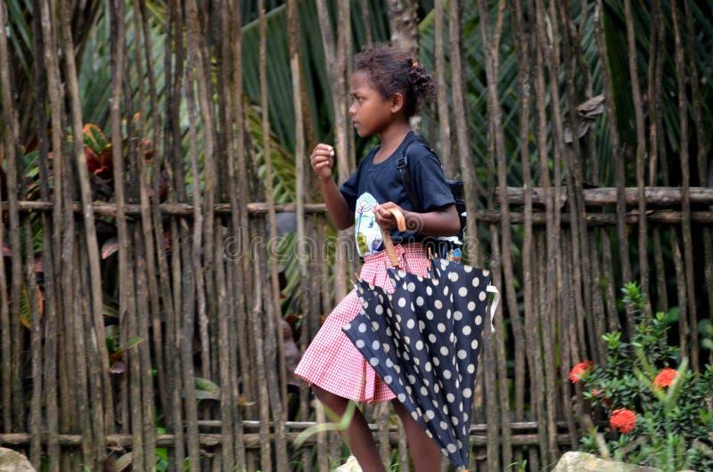 Indegenousmensen - Mamanwa in de Filippijnen royalty-vrije stock foto's