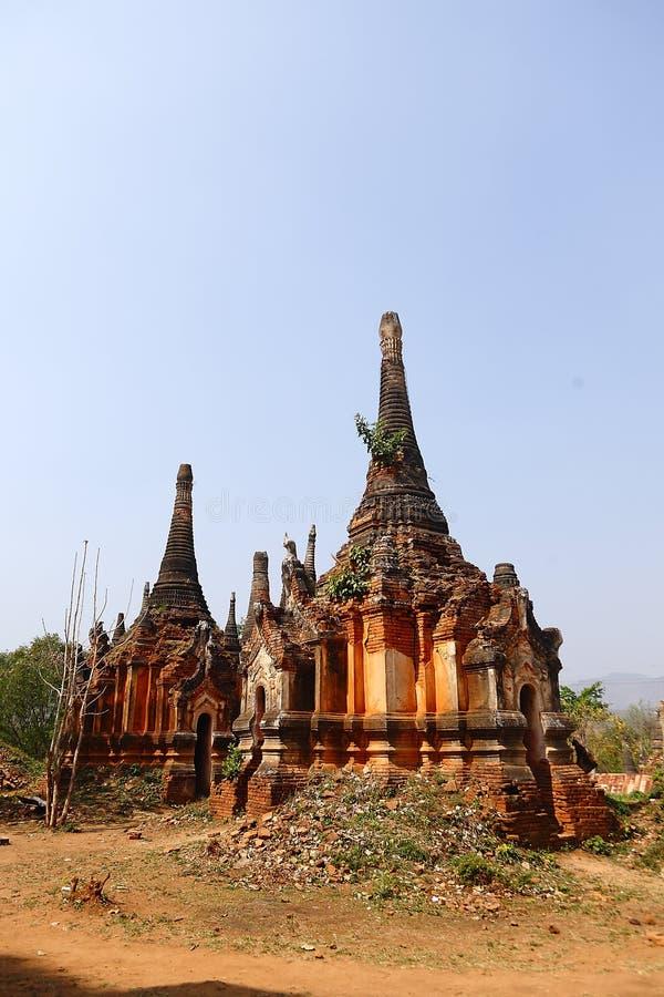 Indein dans Myanmar photo libre de droits