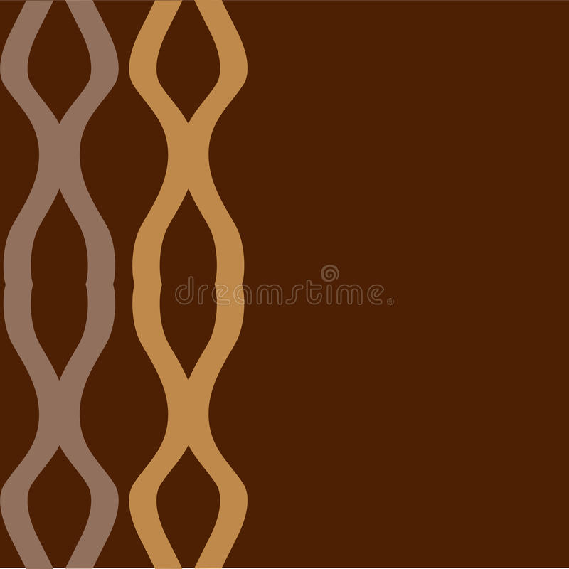 Download Indented patterns stock illustration. Image of abstract - 15811682