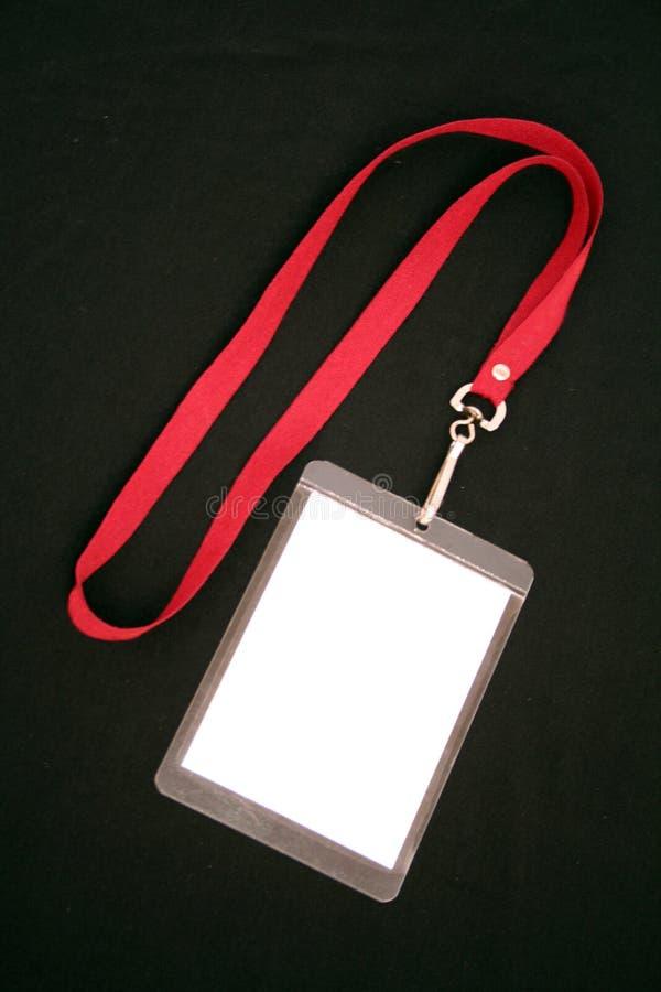 Indentity de lanière photographie stock libre de droits