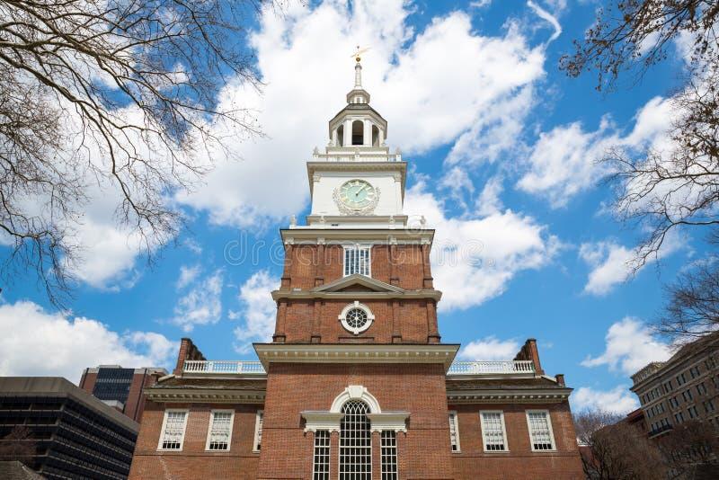 Independência Hall Philadelphia imagens de stock