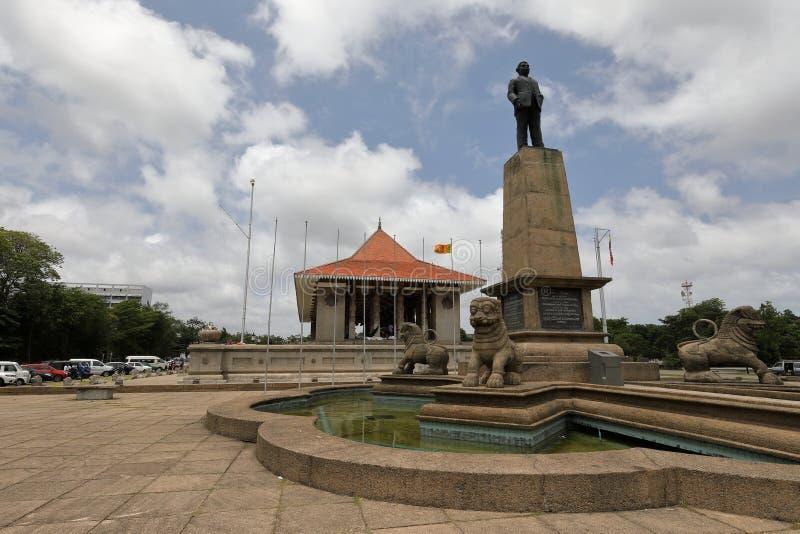 Independência Salão de Colombo em Sri Lanka fotografia de stock royalty free