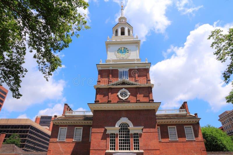 Independência Salão de Philadelphfia imagens de stock