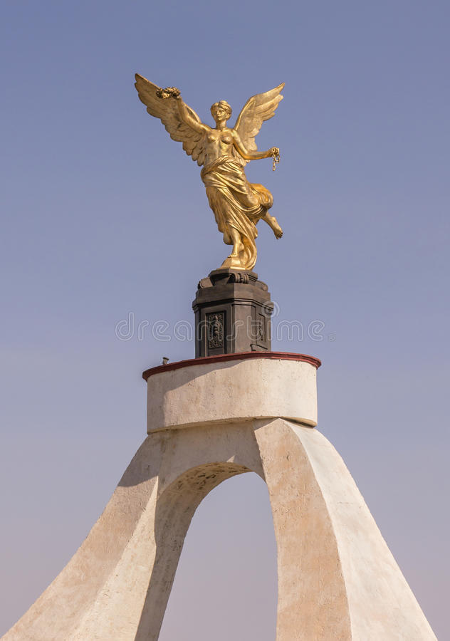 Download Independence Angel Gold Cuernavaca Mexico Stock Image - Image: 30384921