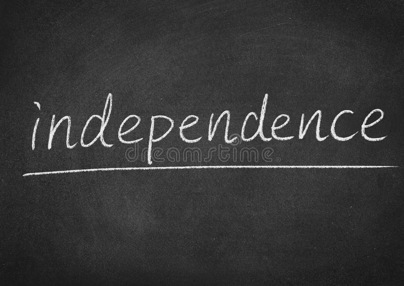 Independence royalty free stock photo