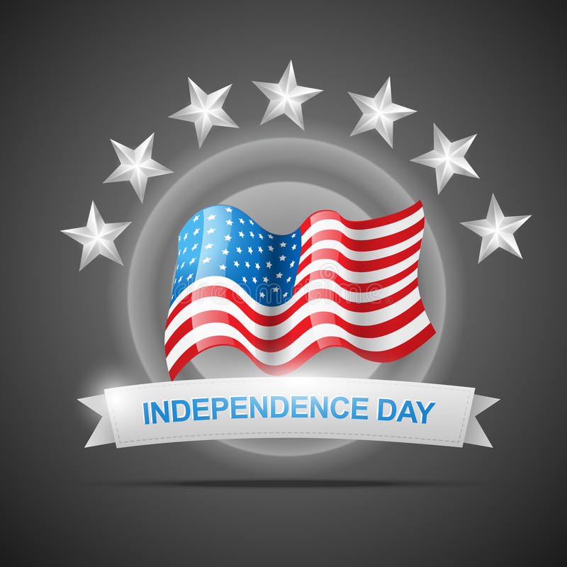 Download Independence Day 4th Of July Stock Vector - Illustration of holiday, memorial: 25442174