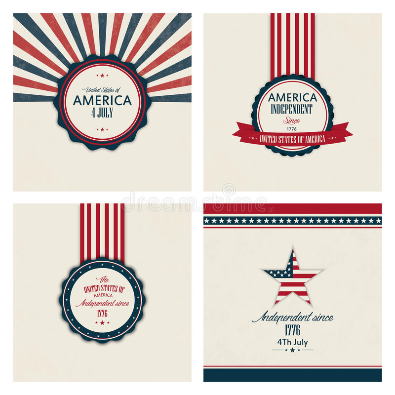 Independence Day vector illustration