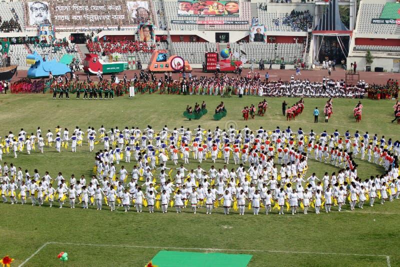 The Independence Day of Bangladesh. Bengali: স্বাধীনতা দিবস Shadhinôta Dibôs, also royalty free stock images