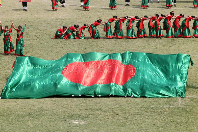 The Independence Day of Bangladesh stock images