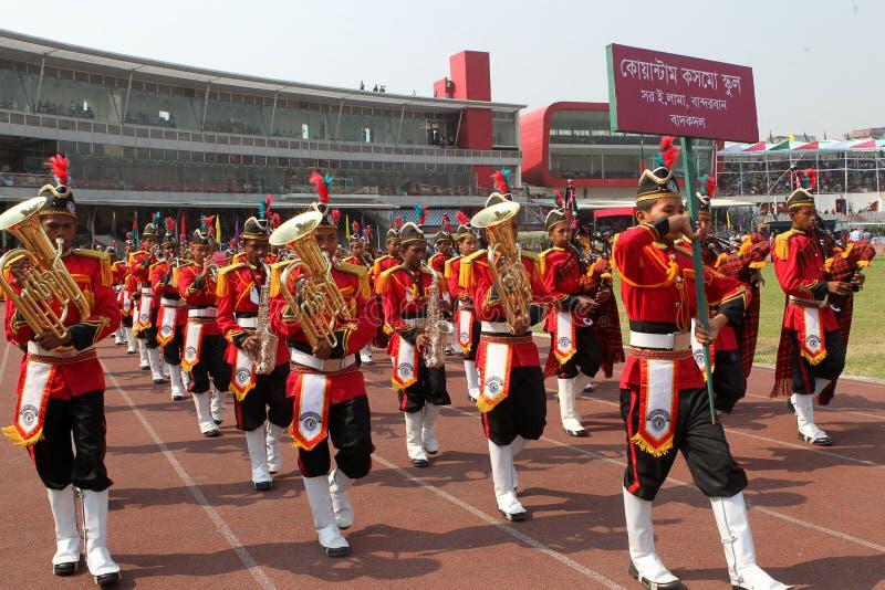 The Independence Day of Bangladesh stock photos