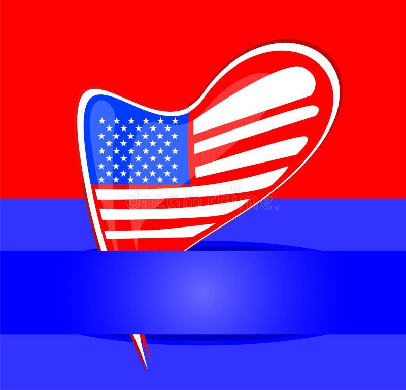 Download Independence Day Design. Usa Card Design Stock Vector - Illustration: 24351963