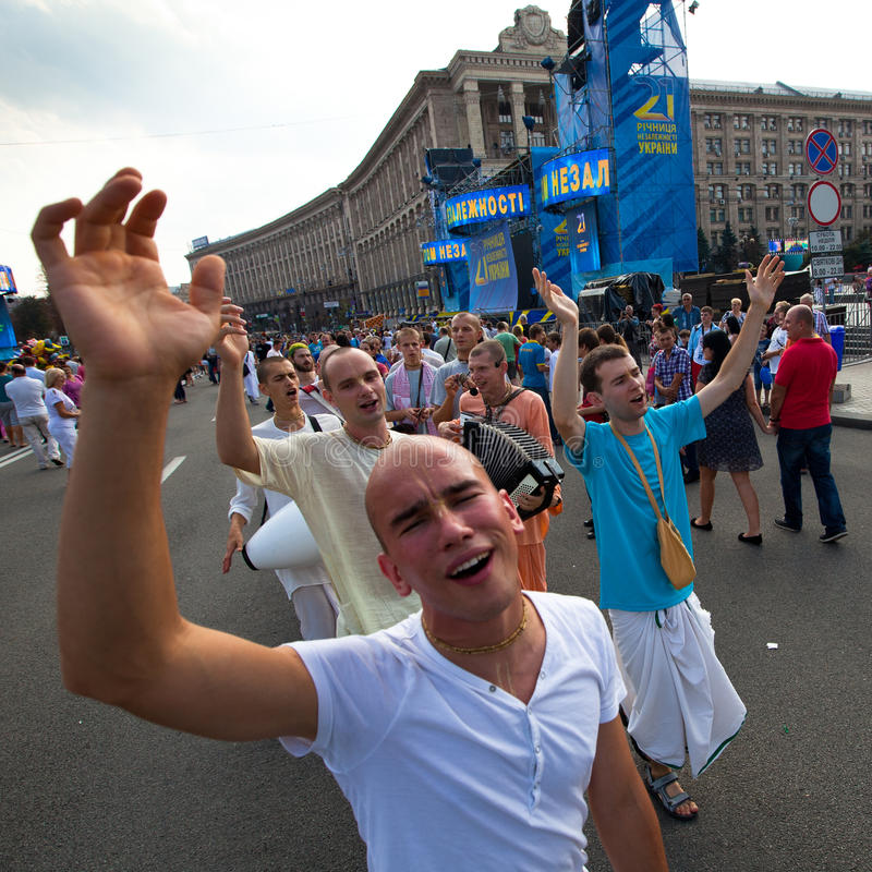 Download Independence Day Of Ukraine In Kiev Editorial Photography - Image: 26291857