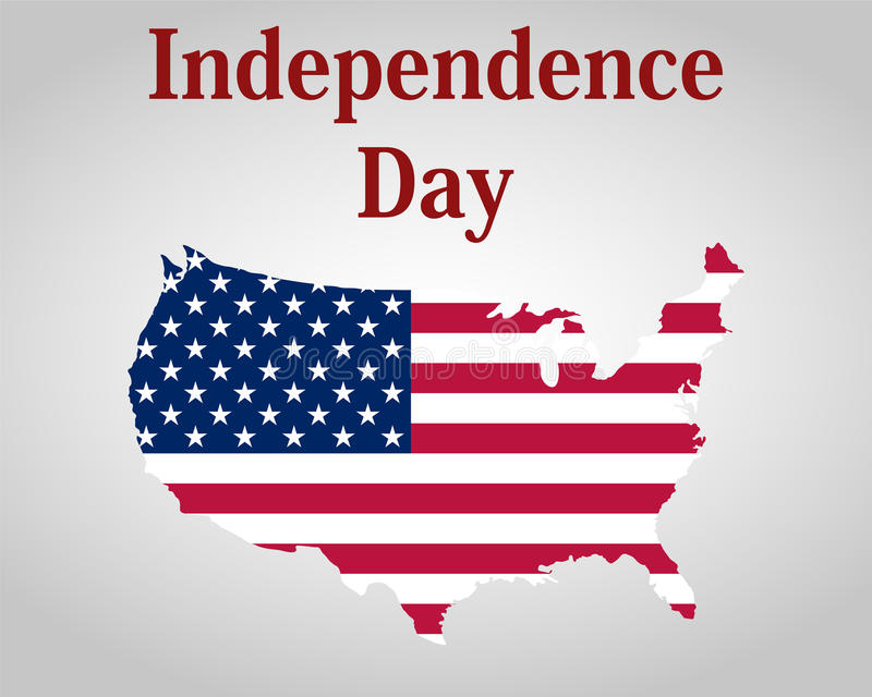 Independence Day in the United States of America. vector illustration