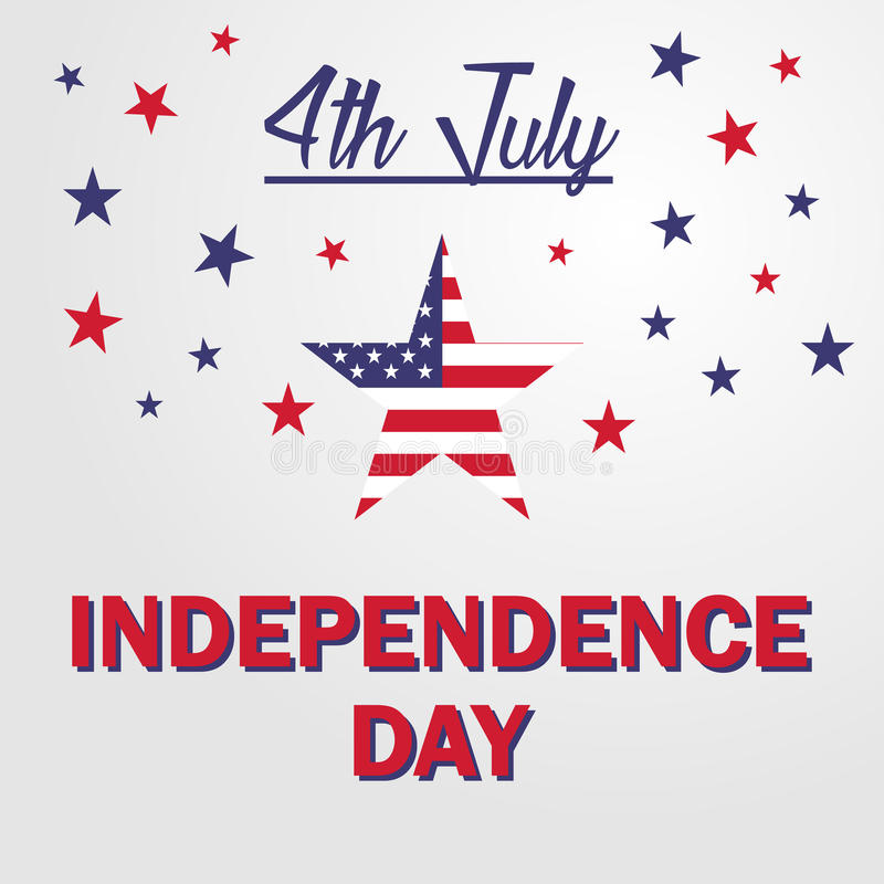 Independence day USA 4th july. Vector illustration stock illustration
