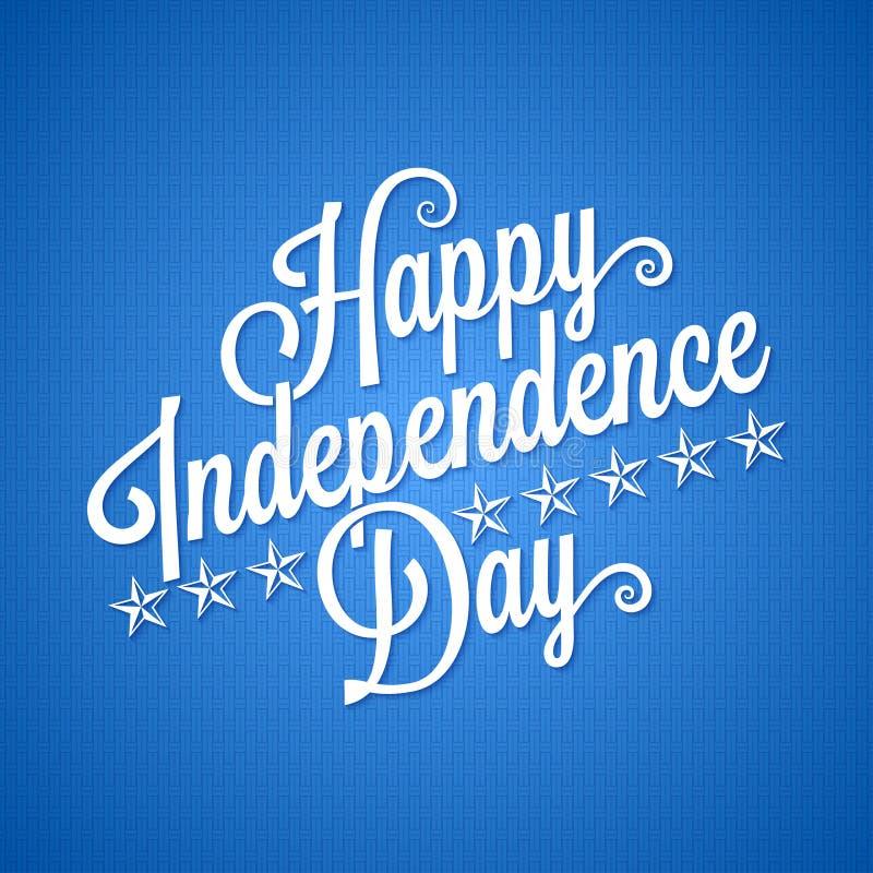 Download Independence Day Vintage Lettering Background Stock Vector - Image: 42291071
