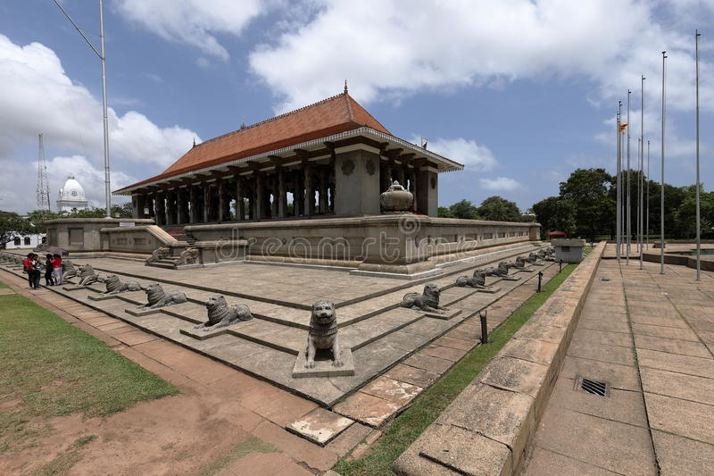 Independence Hall of Colombo in Sri Lanka royalty free stock photo