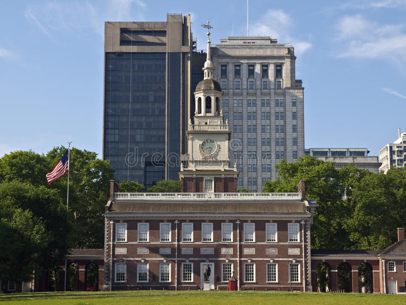 Independence Hall Day stock photos