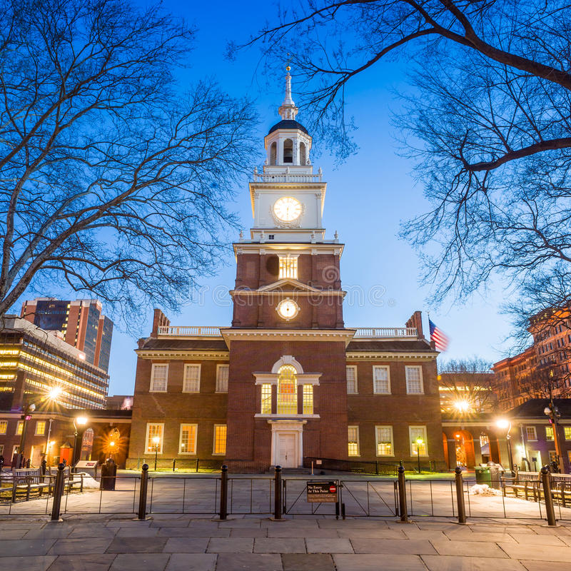 Free Independence Hall National Historic Park Philadelphia Stock Photo - 38517040