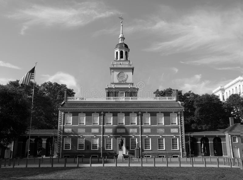 Independence Hall North Side stock images