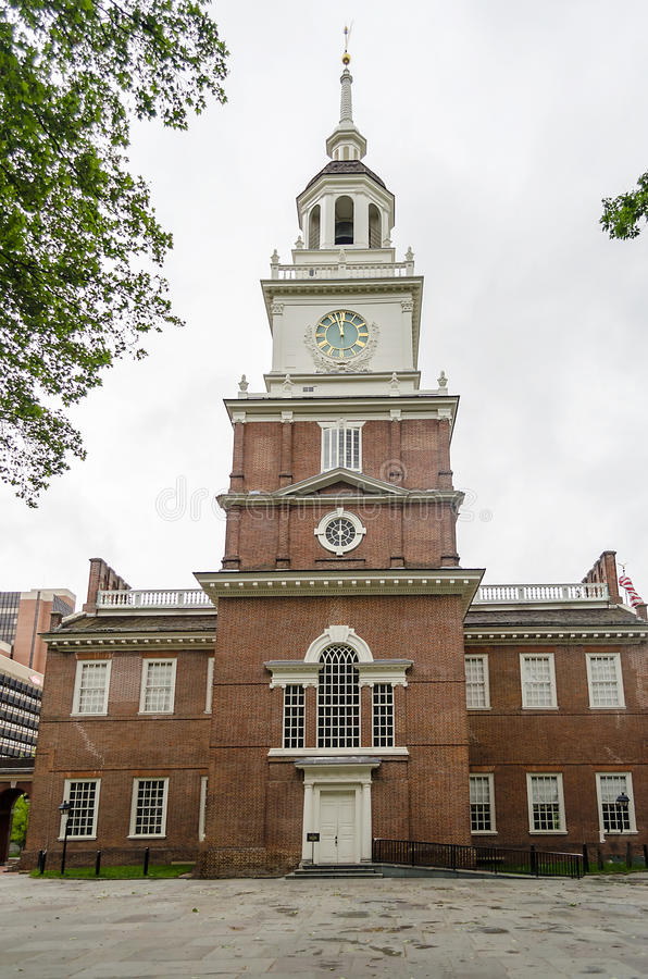 Download Independence Hall In Philadelphia, Stock Image - Image of construction, continental: 32329437