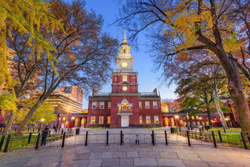 Independence Hall of Philadelphia stock photos