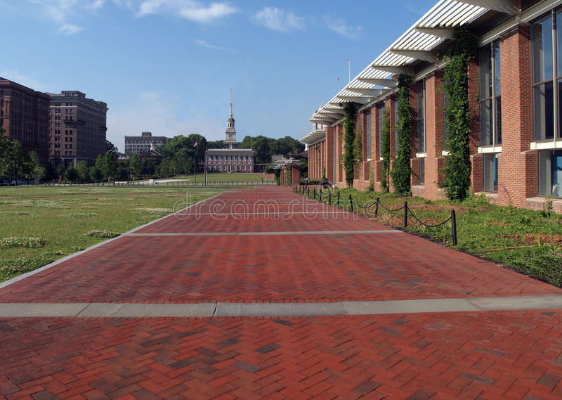 Independence Hall Visitor Center royalty free stock photography