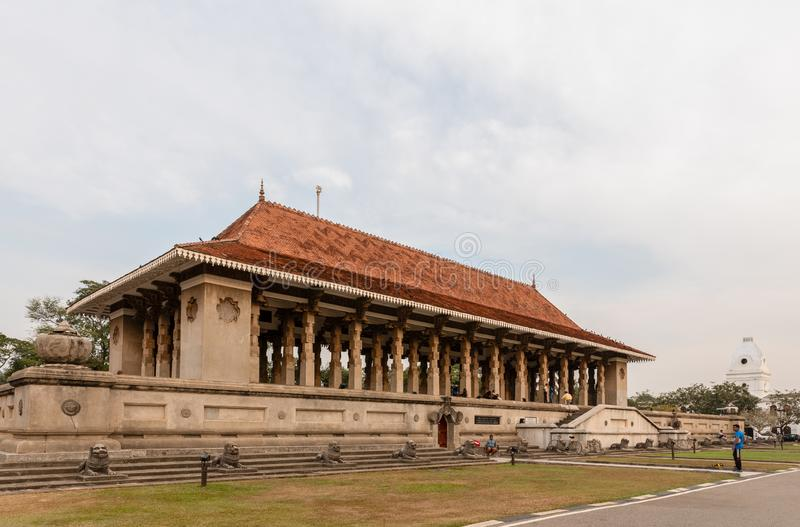 Independence Memorial or Commemoration Hall in Colombo royalty free stock photography