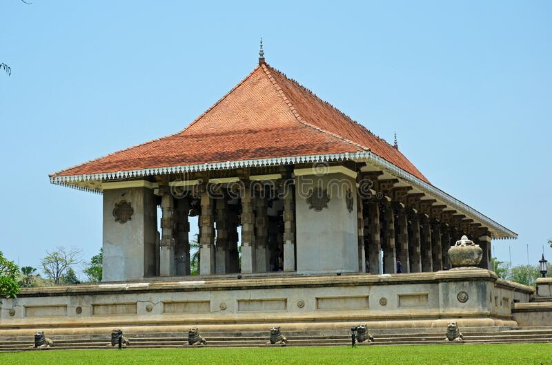 Independence Memorial Hall of Sri Lanka in Colombo. Independence Memorial Hall is a national monument in Sri Lanka built for commemoration of the independence of stock photography