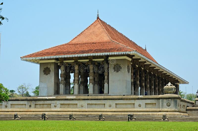 Independence Memorial Hall of Sri Lanka in Colombo. Independence Memorial Hall is a national monument in Sri Lanka built for commemoration of the independence of royalty free stock photos