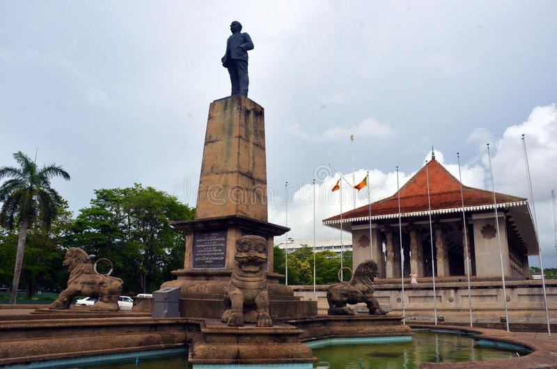 Independence Memorial Hall, Sri Lanka stock photography