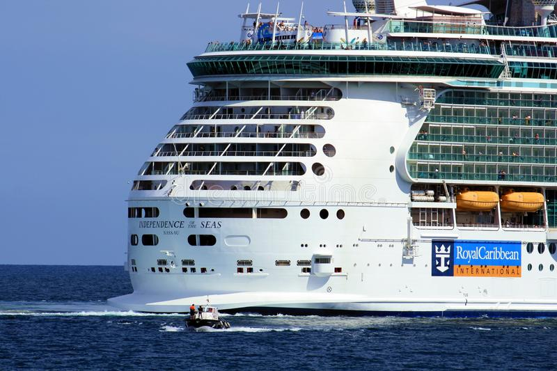 Download Independence of the Seas editorial image. Image of sail - 27821830