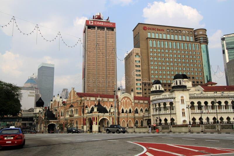 Merdeka Square, Kuala Lumpur, Malaysia. royalty free stock photo