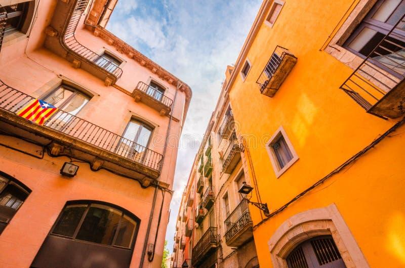 Independencia para Cataluña fotografía de archivo libre de regalías