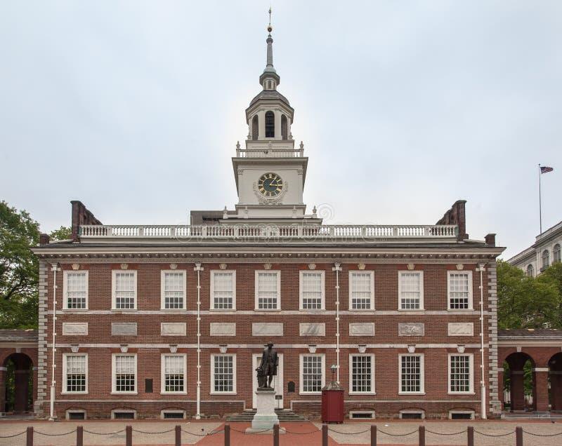 Independencia Pasillo Philadelphia foto de archivo libre de regalías
