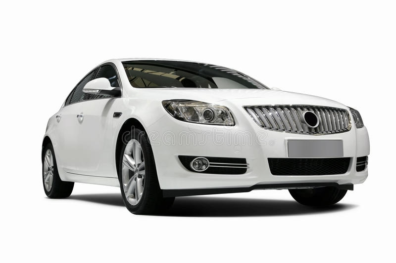 Download A Independent White Static Car In White Background Stock Image - Image: 19853523