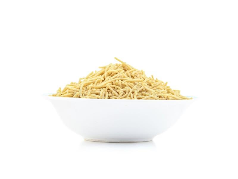 Inder Namkeen-Nahrung Aloo Sev stockfotos