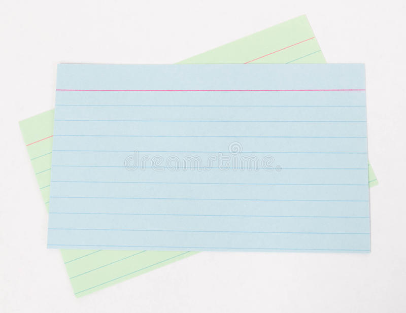 Download Index Cards stock photo. Image of white, index, cards - 27128138