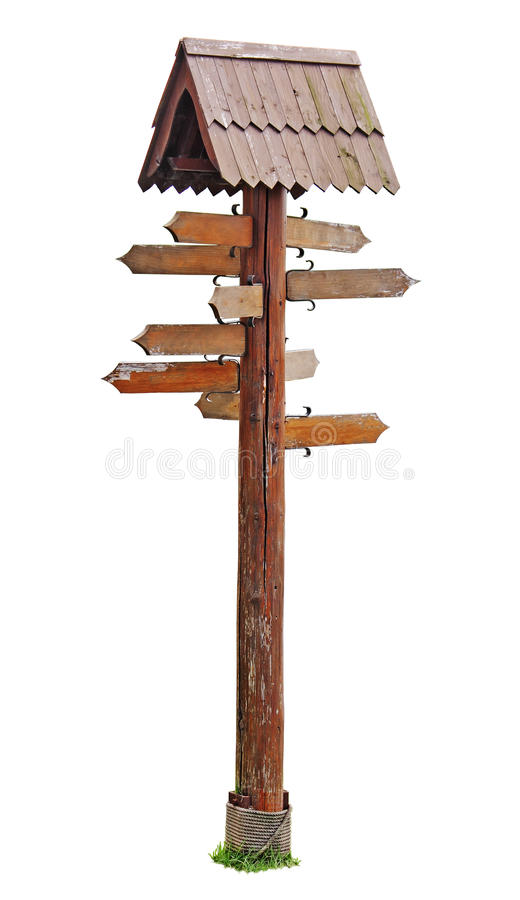 The index of directions stock image