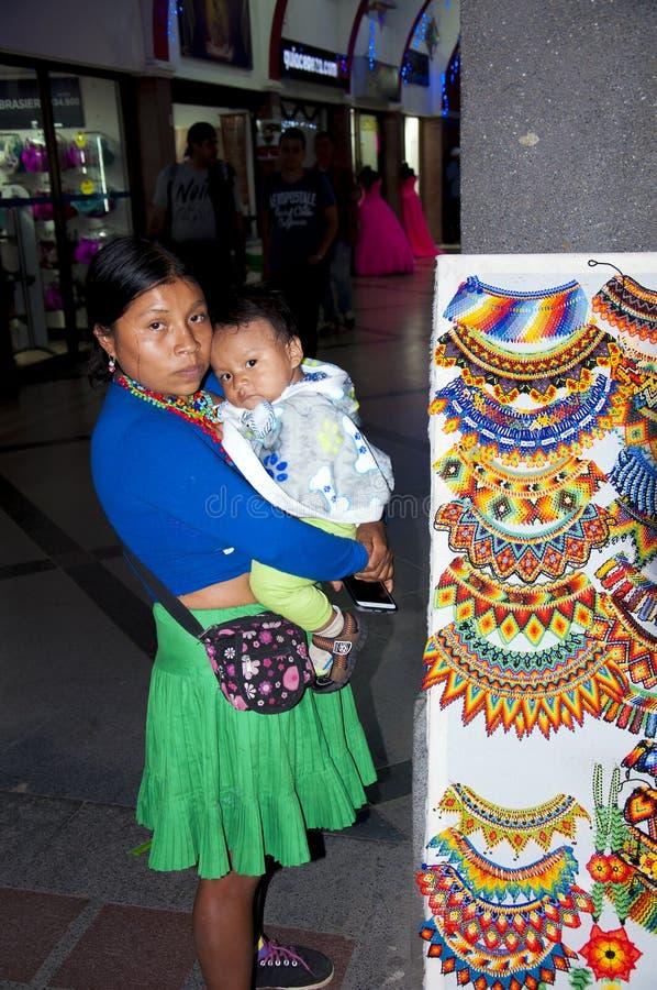 Indgenas w Medellin, Kolumbia obraz stock