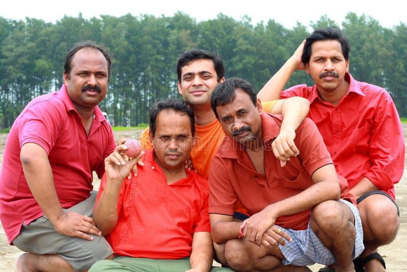 Indiër sportrsmen royalty-vrije stock fotografie