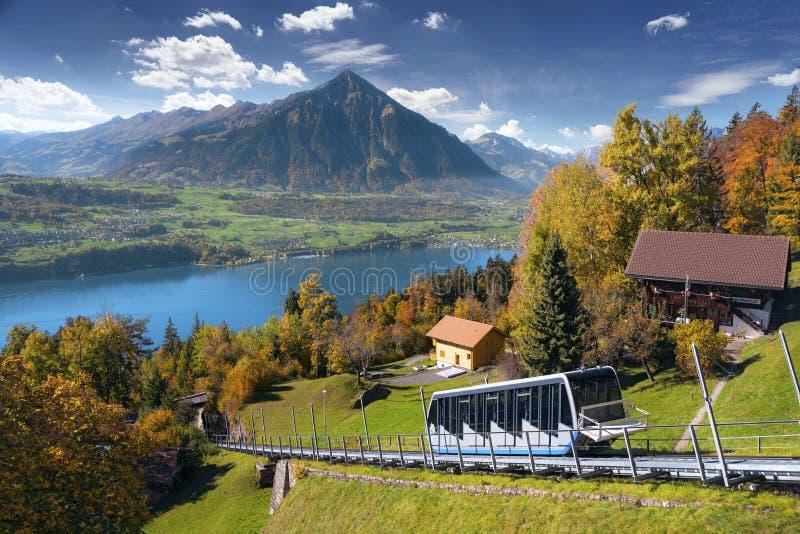 Indiański lato w Szwajcarskich Alps zdjęcie royalty free