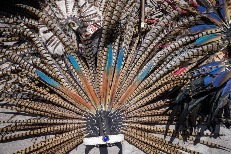 Indiańscy pióropusze fotografia royalty free
