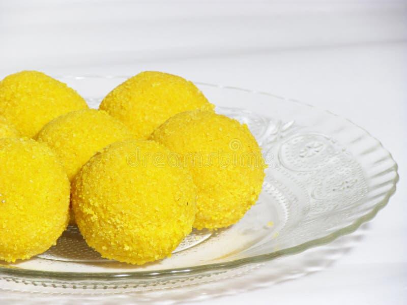 Indiańscy tradycyjni cukierki fotografia stock