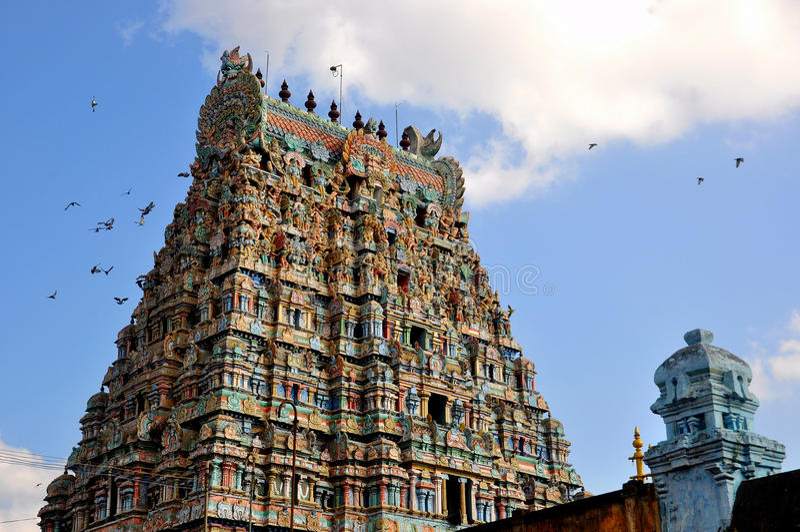 Indiańska świątynia zdjęcie royalty free