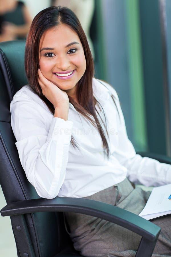 Indiańska biznesowa kobieta zdjęcie stock