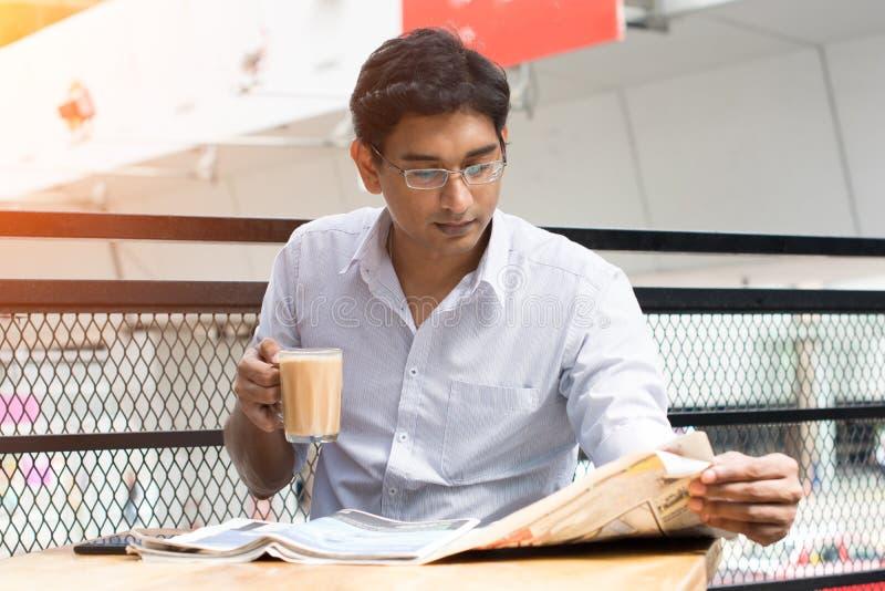Indiańska biznesowa samiec zdjęcia royalty free