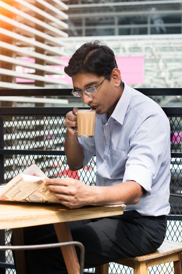 Indiańska biznesowa samiec obraz stock