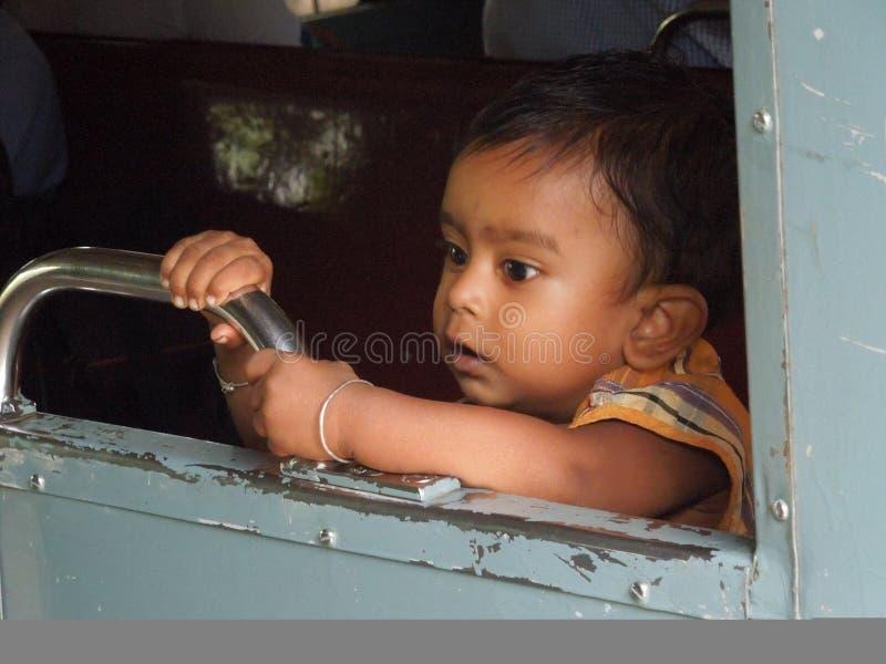 Indiańska chłopiec fotografia stock